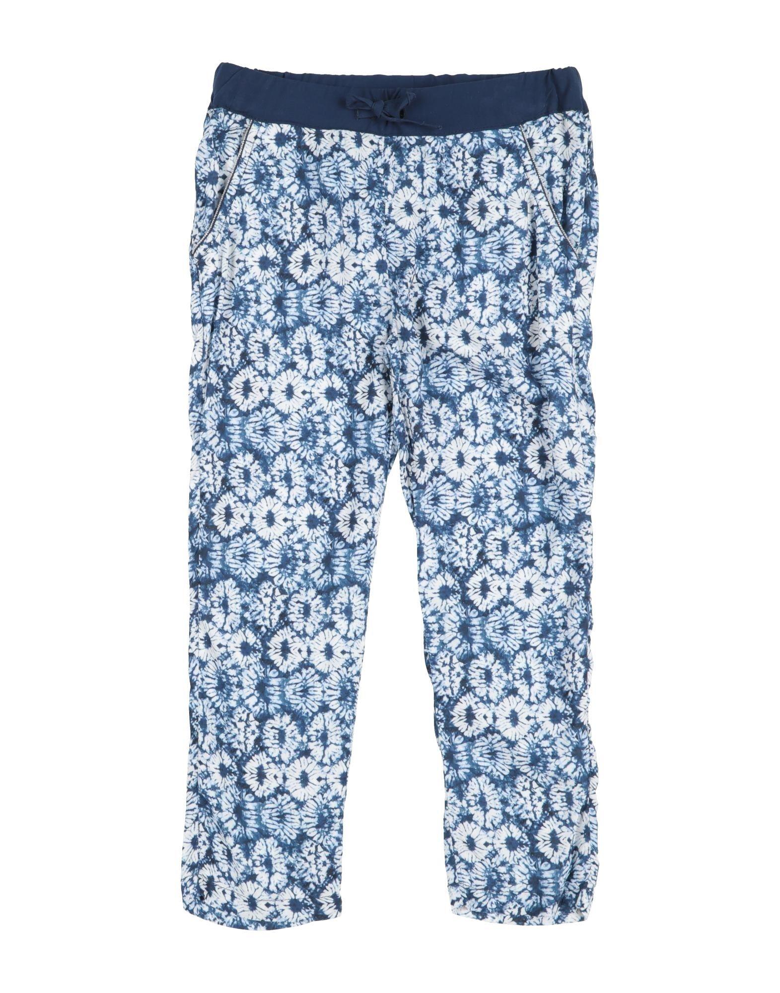 3 Pommes Kids' Casual Pants In Blue