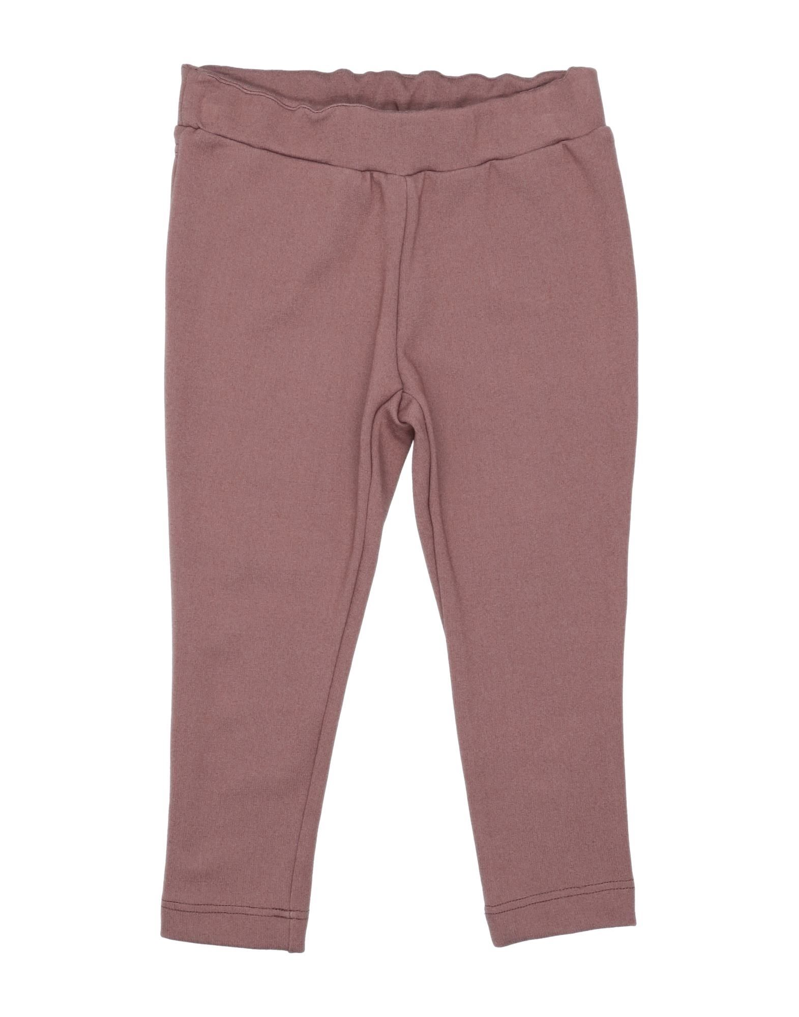 Miss Pois Kids' Casual Pants In Purple