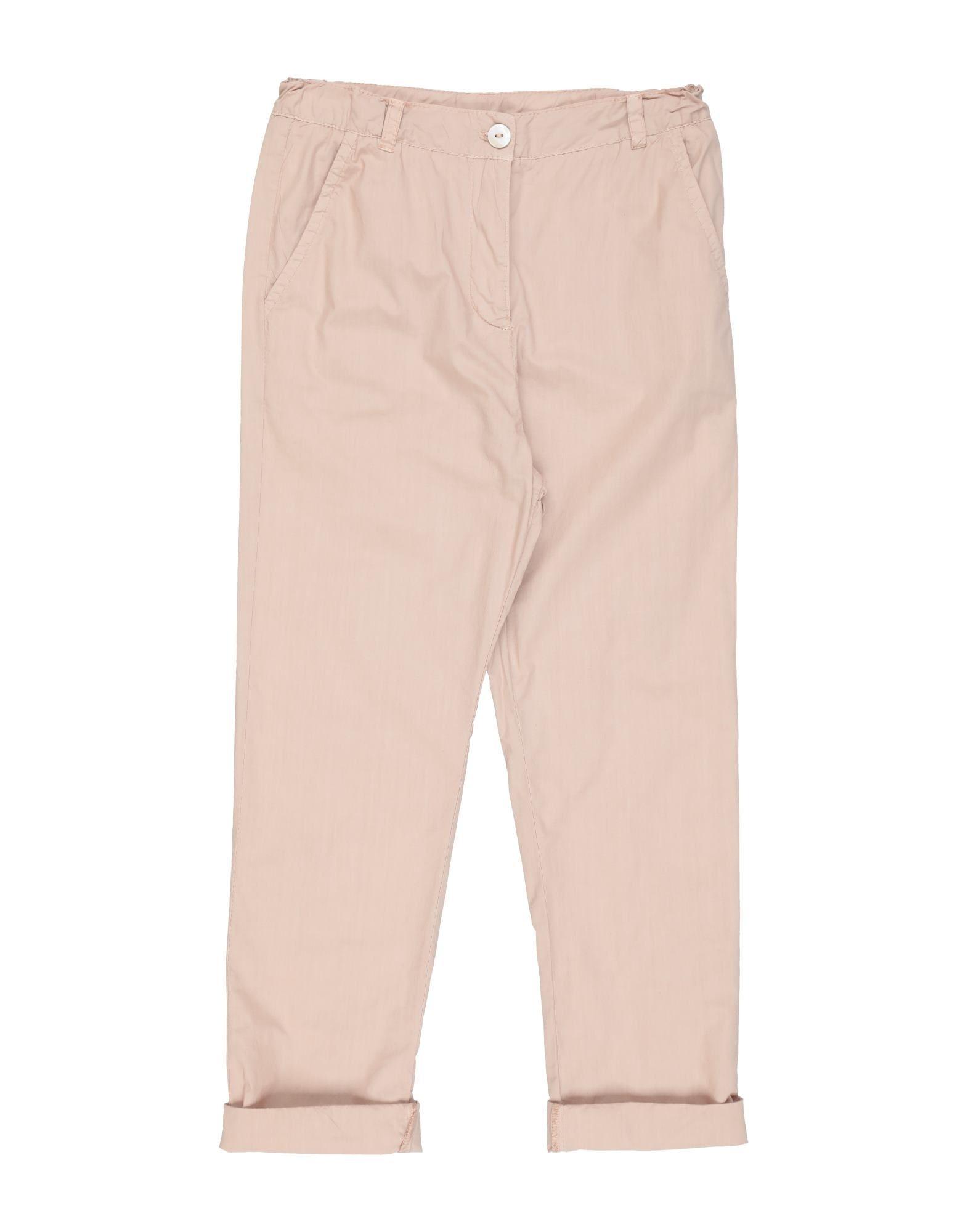 Yellowsub Kids' Casual Pants In Pastel Pink