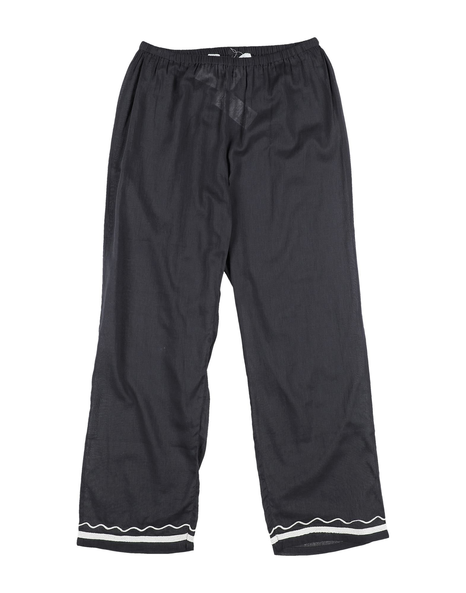 Touriste Kids' Casual Pants In Gray