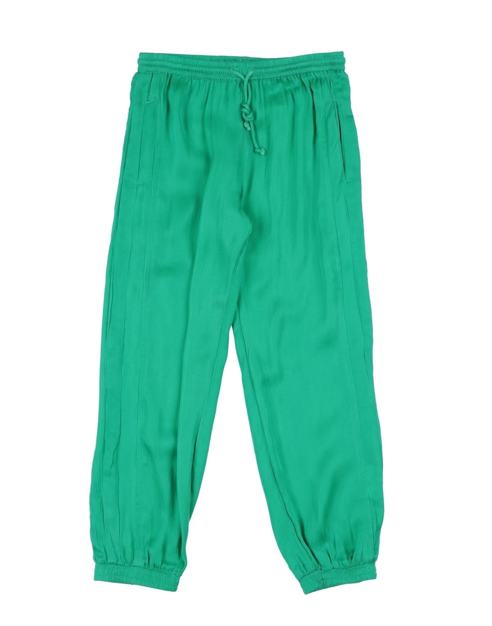 SIMPLE KIDS Casual pants. plain weave, no appliqués, basic solid color, multipockets, with elastic bottom. 100% Viscose