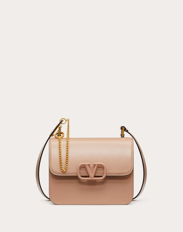VSLING shoulder bag in smooth calfskin leather
