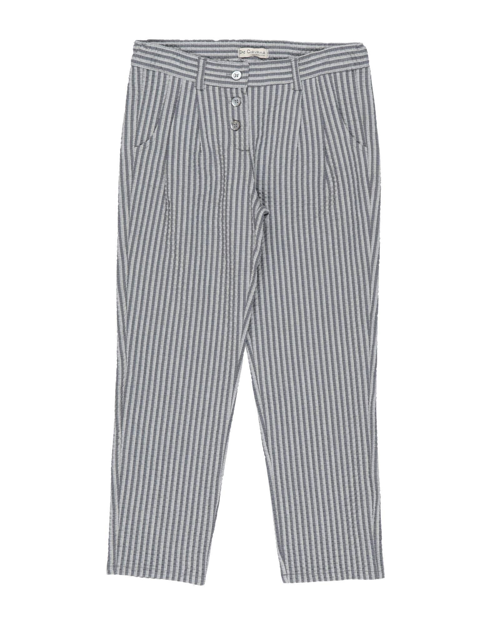 De Cavana Kids' Casual Pants In Gray