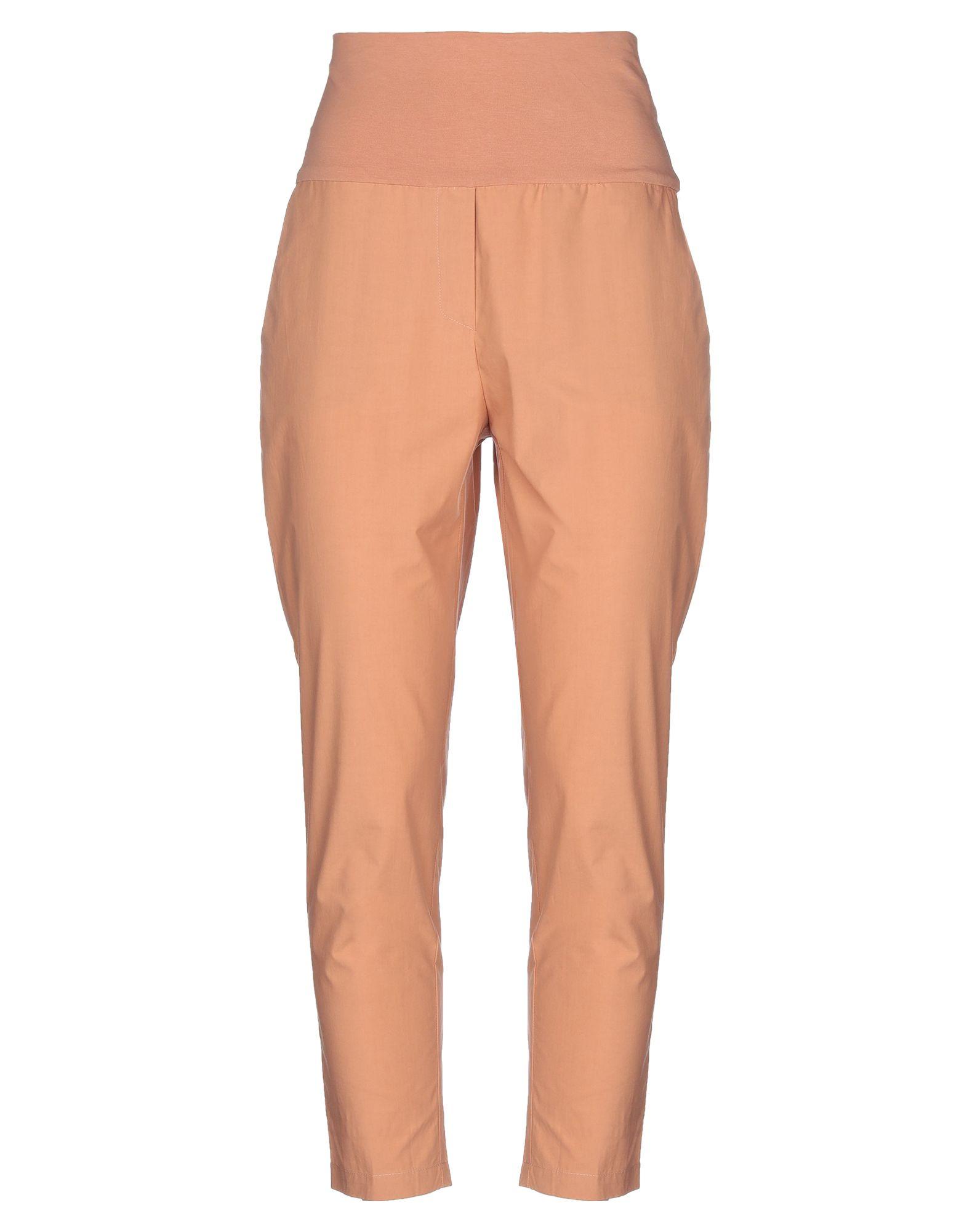 《セール開催中》MANILA GRACE レディース パンツ あんず色 42 コットン 94% / ポリウレタン 6%