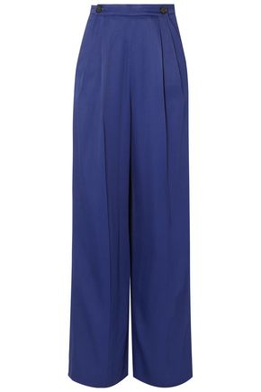 MARNI Satin-twill wide-leg pants