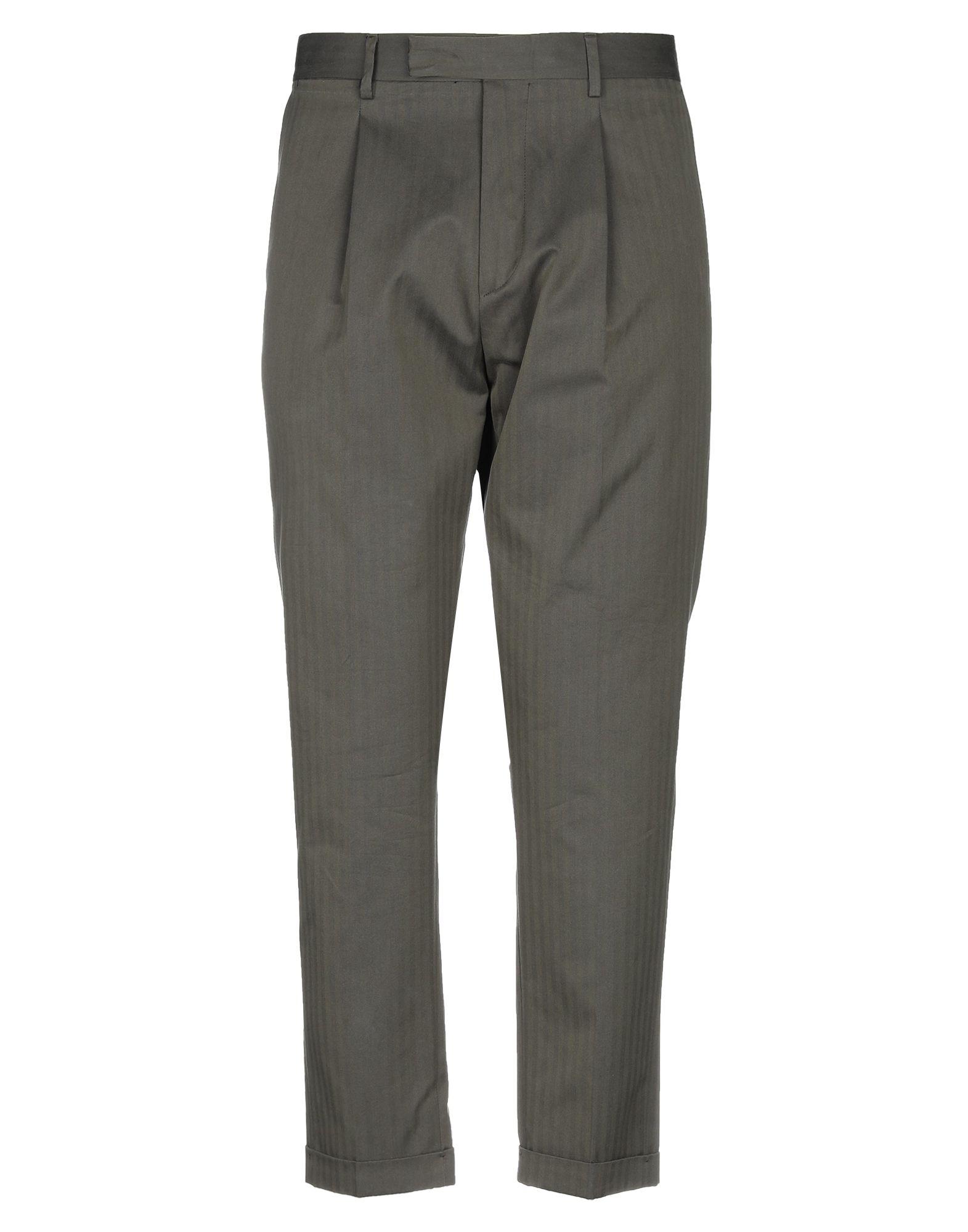 《セール開催中》BE ABLE メンズ パンツ グリーン 31 コットン 100%