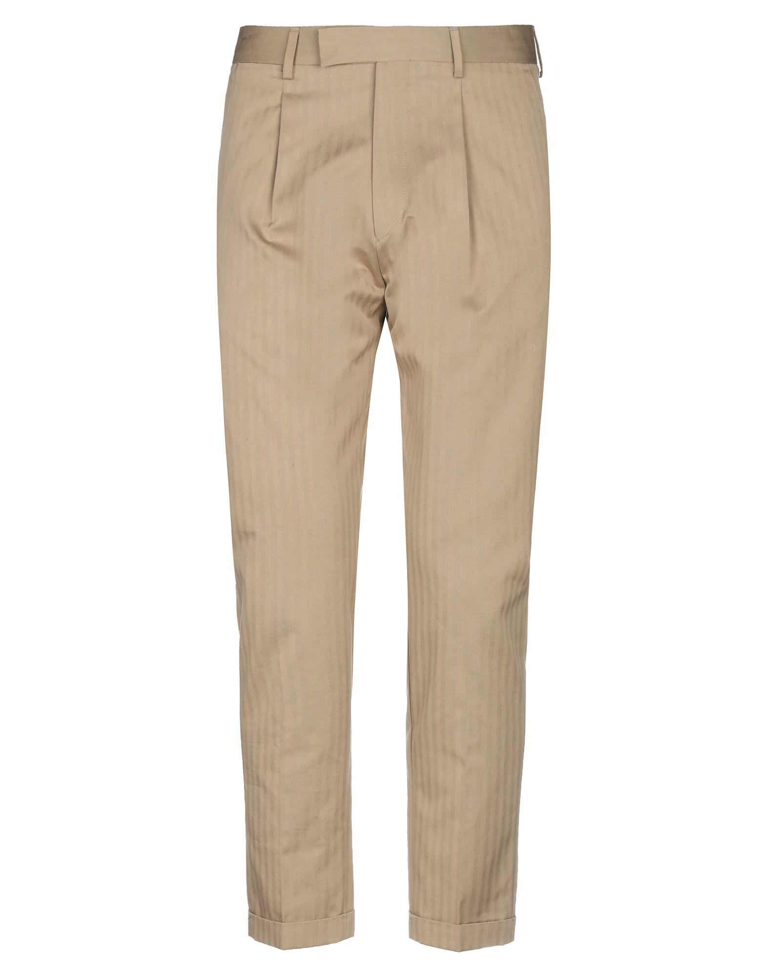 《セール開催中》BE ABLE メンズ パンツ サンド 34 コットン 100%