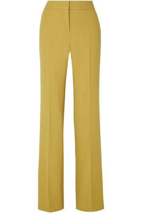 BOTTEGA VENETA Wool-crepe wide-leg pants