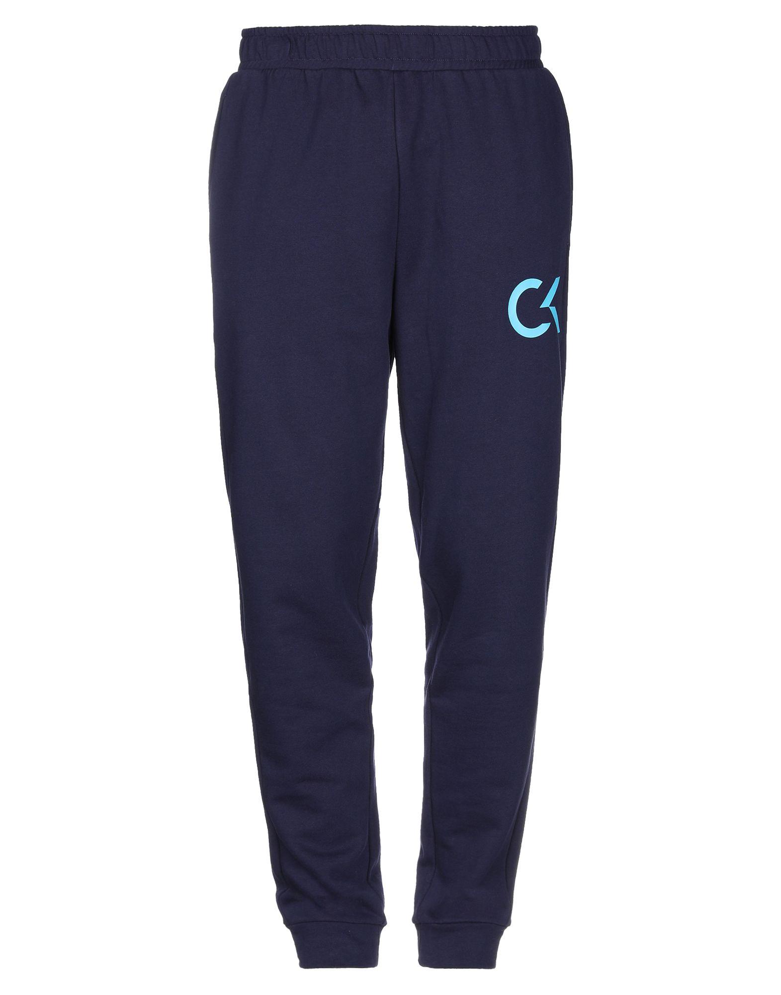 《セール開催中》CALVIN KLEIN PERFORMANCE メンズ パンツ ダークブルー M コットン 100%