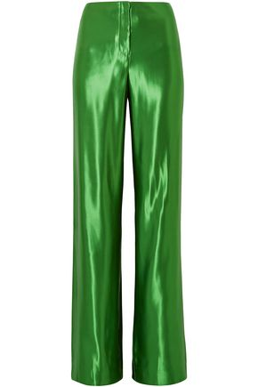 JASON WU Satin wide-leg pants