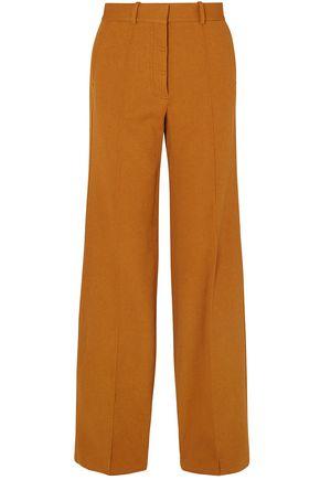 VICTORIA BECKHAM Crepe wide-leg pants