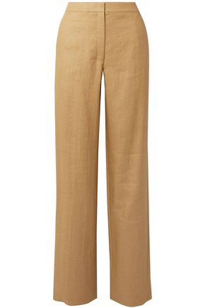 THEORY Twill straight-leg pants