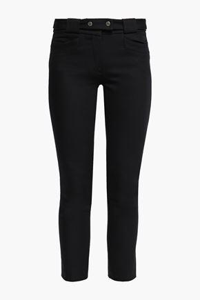 BA&SH Cropped cotton skinny pants