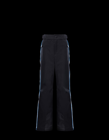 SKI TROUSERS Black Junior 8-10 Years - Boy Man