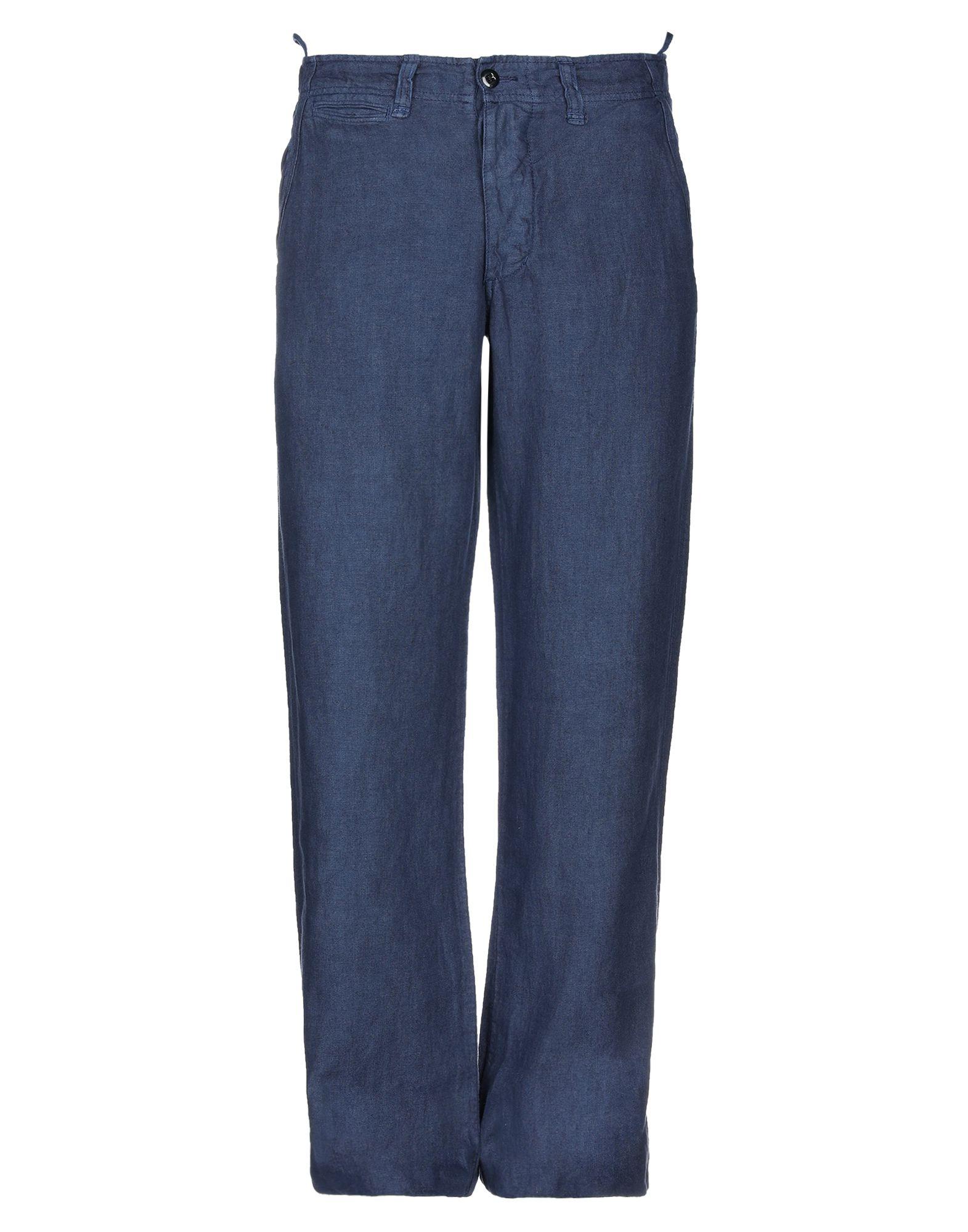《セール開催中》POLO JEANS COMPANY メンズ パンツ ブルー 30W-34L 麻 100%