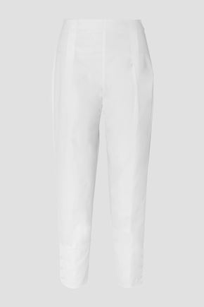 MOLLY GODDARD Archie pleated cotton tapered pants