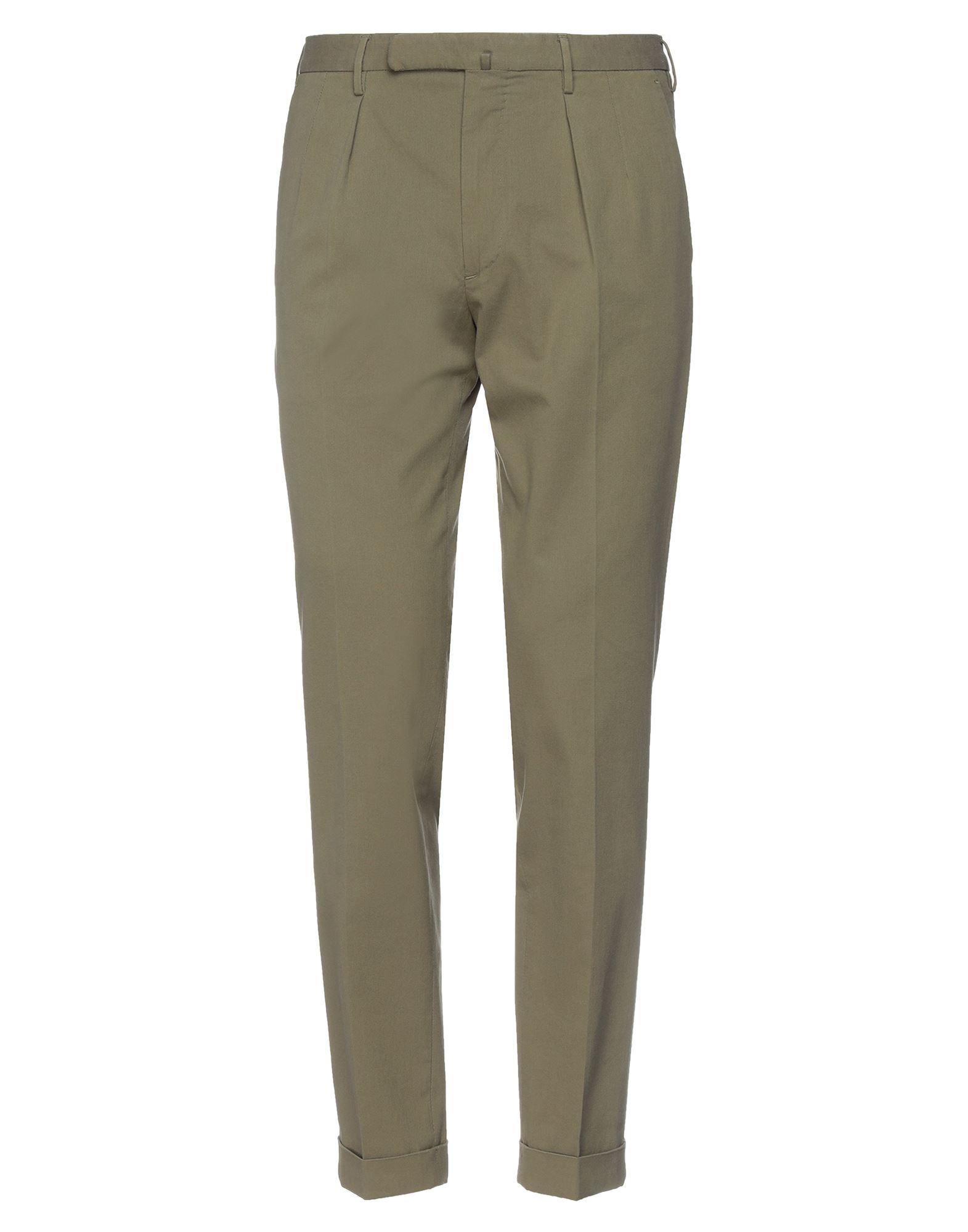 《セール開催中》INCOTEX メンズ パンツ ミリタリーグリーン 50 コットン 99% / ポリウレタン 1%