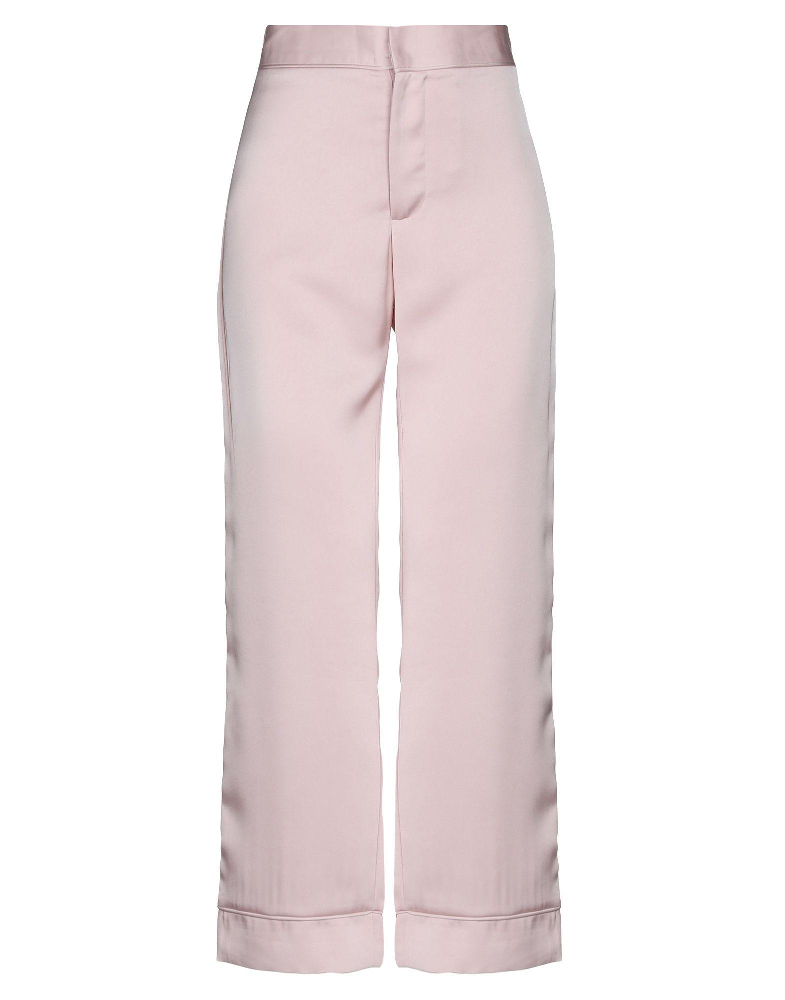 《セール開催中》BY MALINA レディース パンツ ピンク XS ポリエステル 100%