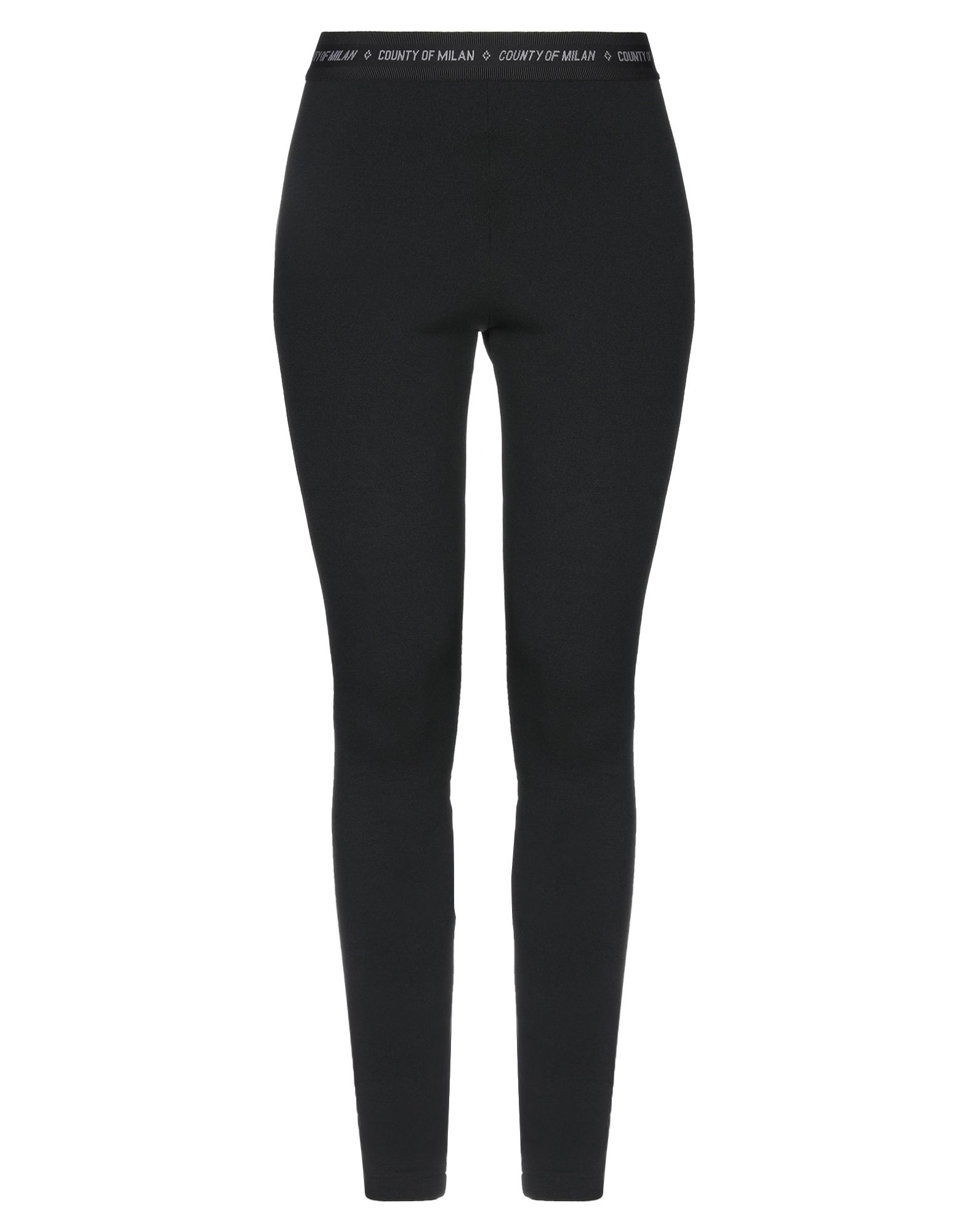 MARCELO BURLON Leggings. jersey, no appliqués, basic solid color, mid rise, slim fit, tapered leg, elasticized waist, no pockets, stretch. 95% Polyester, 5% Elastane