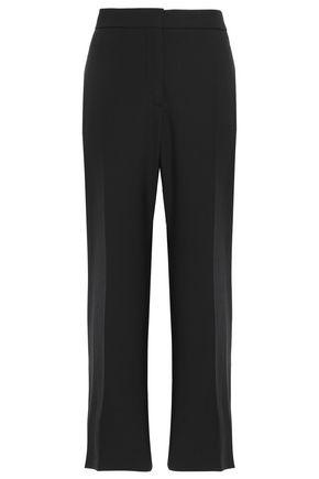 VALENTINO Cropped wool grain de poudre straight-leg pants