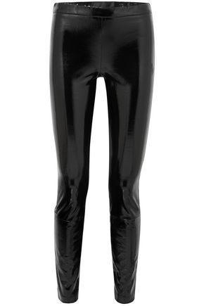 HAIDER ACKERMANN Patent-leather leggings
