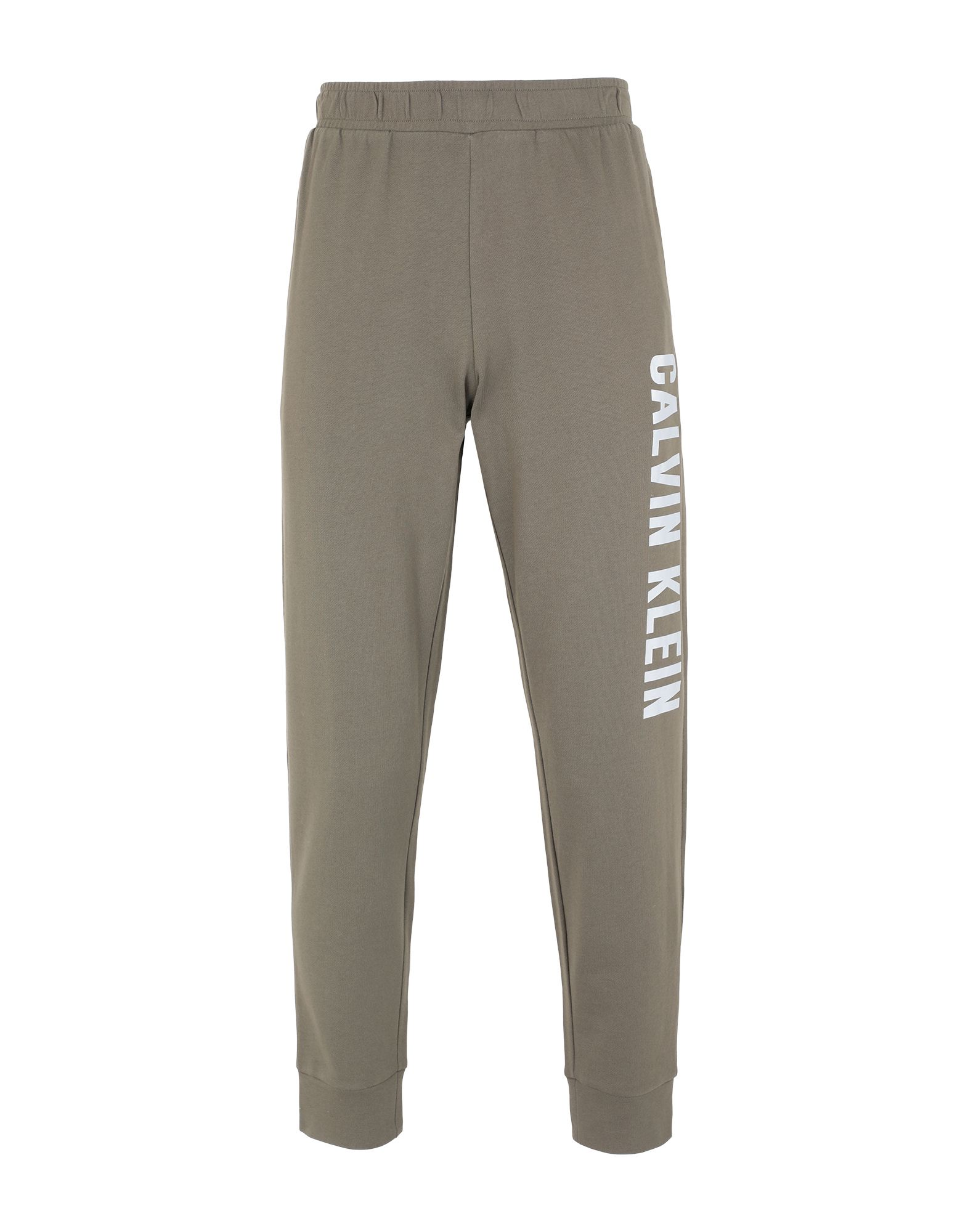 《セール開催中》CALVIN KLEIN PERFORMANCE メンズ パンツ ミリタリーグリーン S コットン 100% KNIT PANTS