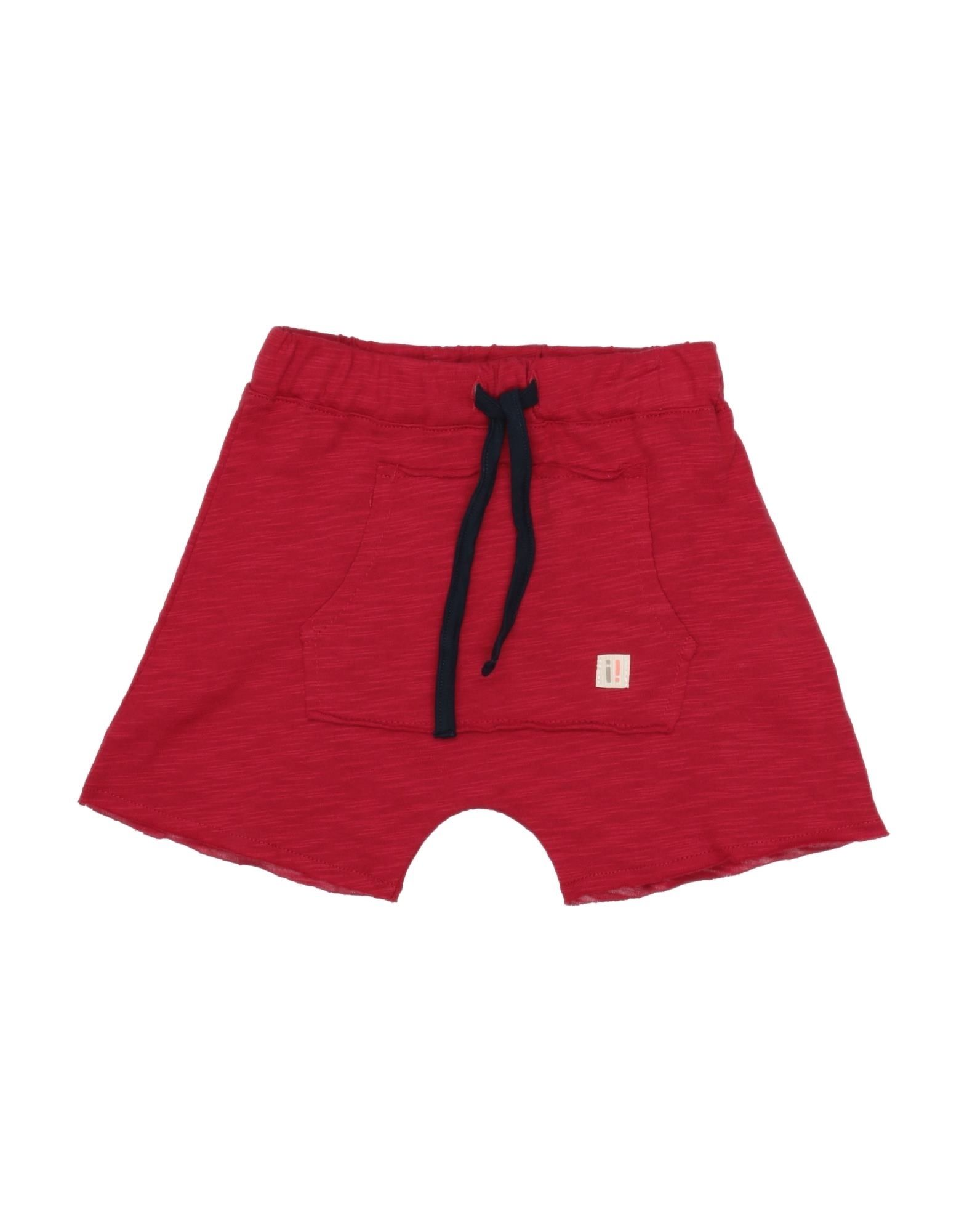 Semprenoi Kids' ! Bermudas In Red