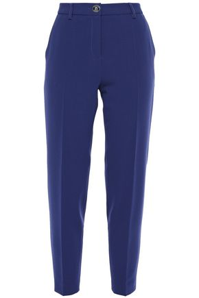 BOUTIQUE MOSCHINO Stretch-crepe tapered pants