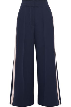ROKSANDA Striped cady wide-leg pants