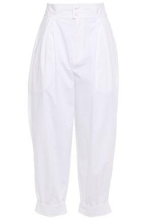 PHILOSOPHY di LORENZO SERAFINI Cotton-blend poplin tapered pants