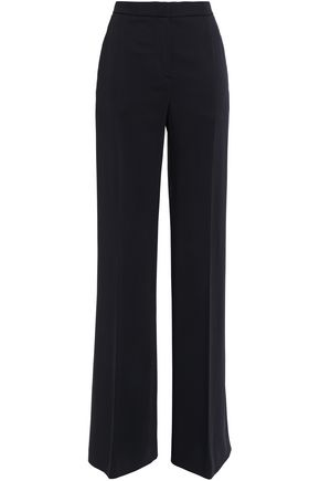ALBERTA FERRETTI Stretch-crepe wide-leg pants