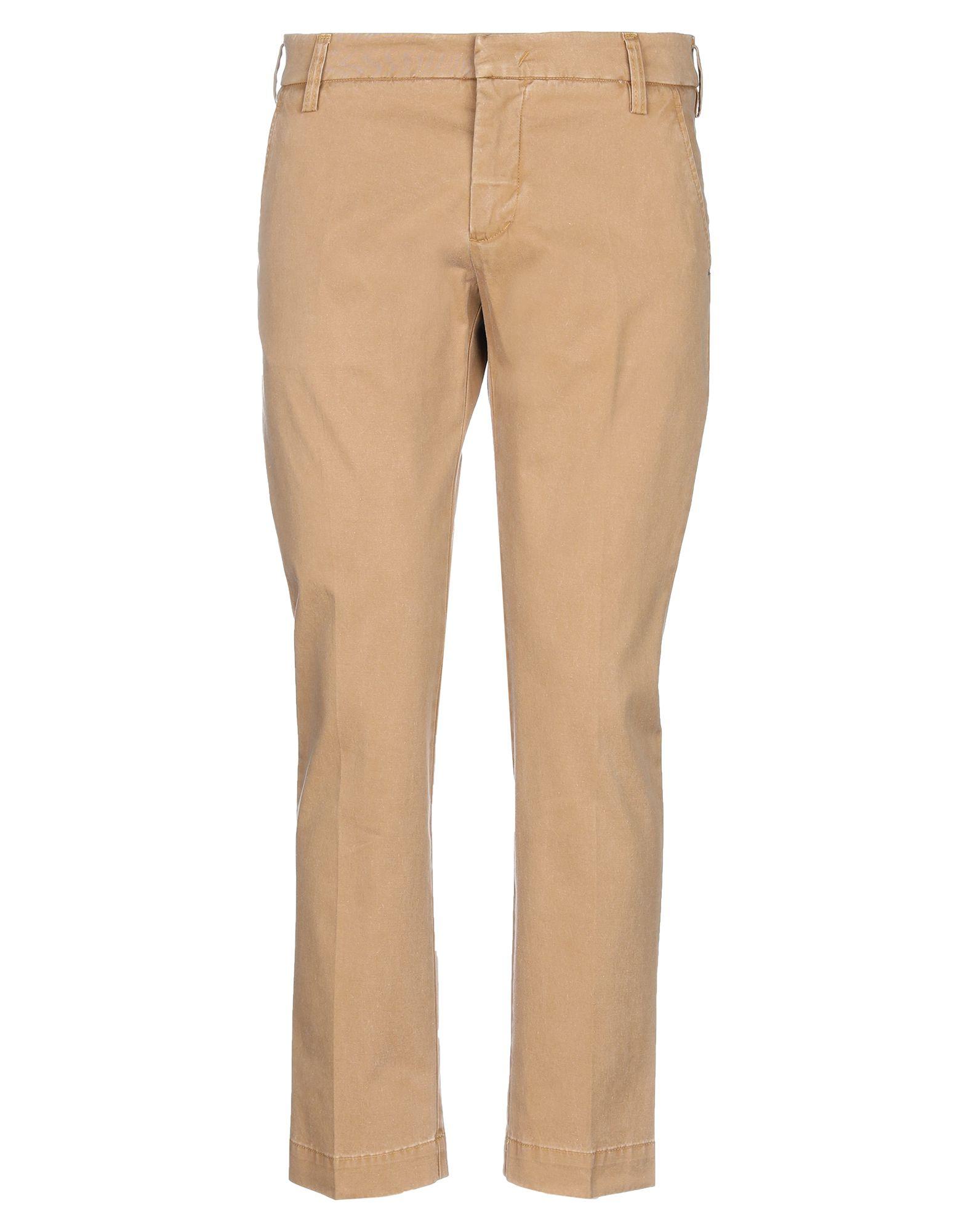 《セール開催中》ENTRE AMIS メンズ パンツ キャメル 35 コットン 96% / ポリウレタン 4%