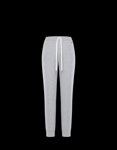 JERSEY TROUSERS Grey Skirts and Trousers Woman