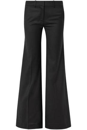 NILI LOTAN Irene wool-twill wide-leg pants