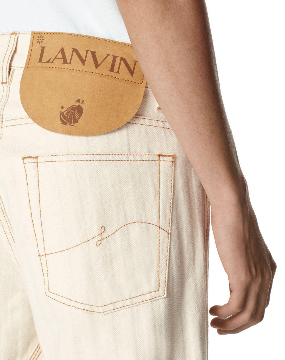 DENIM TROUSERS - Lanvin