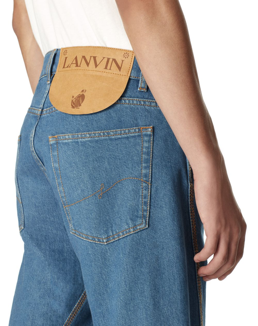 DENIM TROUSERS - Lanvin