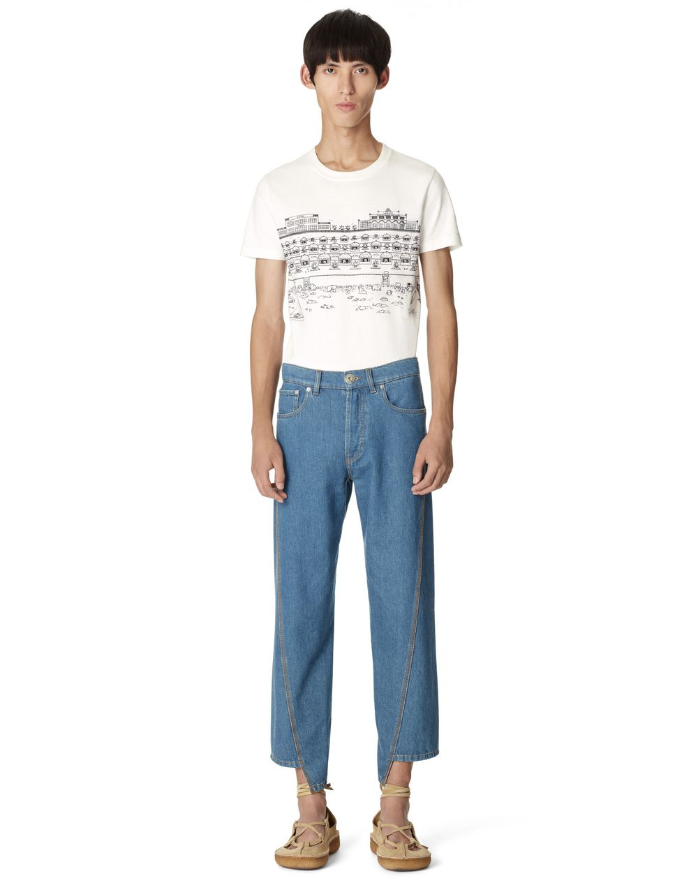 PANTALONI IN DENIM - Lanvin