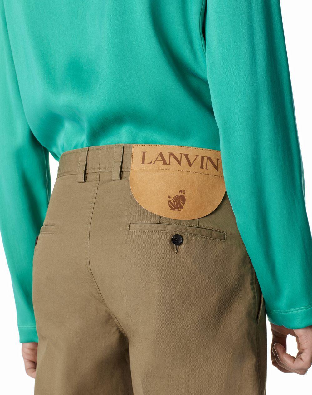 CHINO TROUSERS - Lanvin