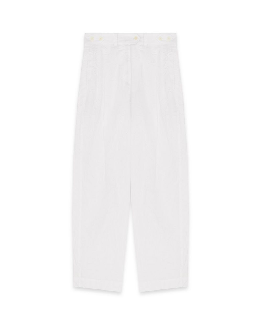 PUFFED COTTON TROUSERS - Lanvin