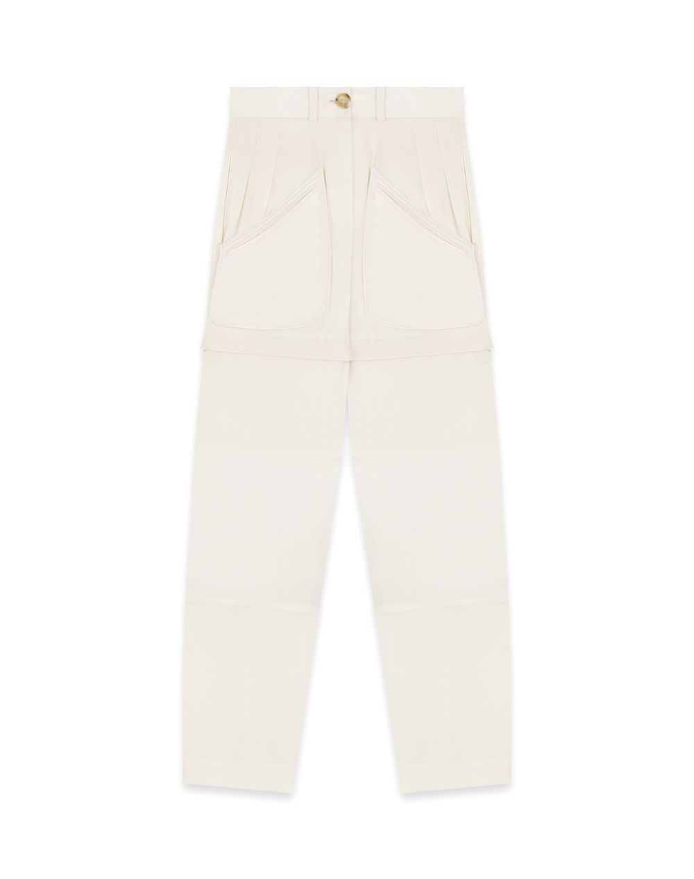SILK TAPERED TROUSERS - Lanvin