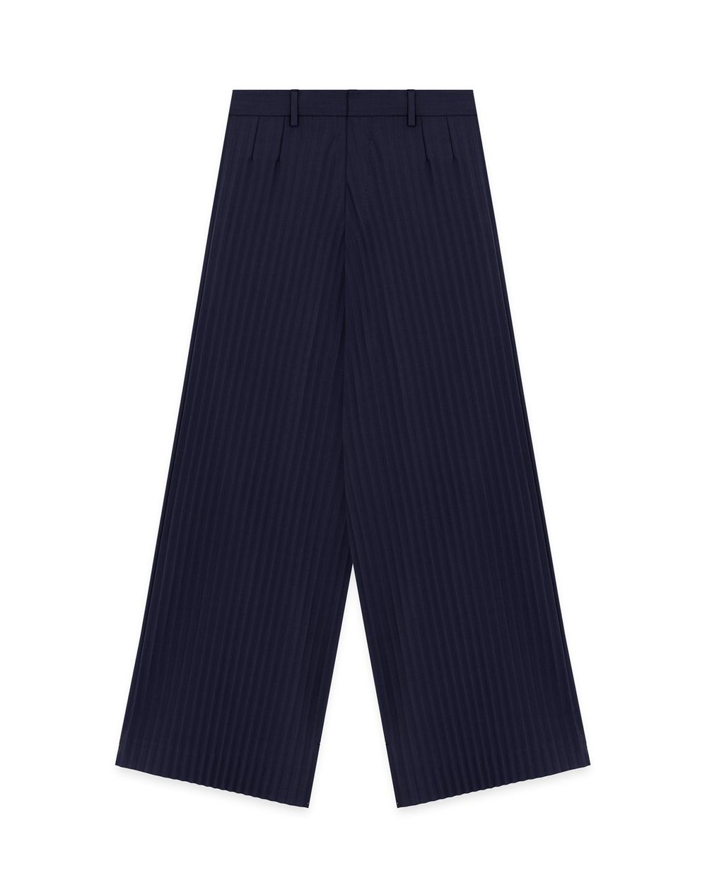 SUNBURST PLEATS 7/8 PANTS - Lanvin