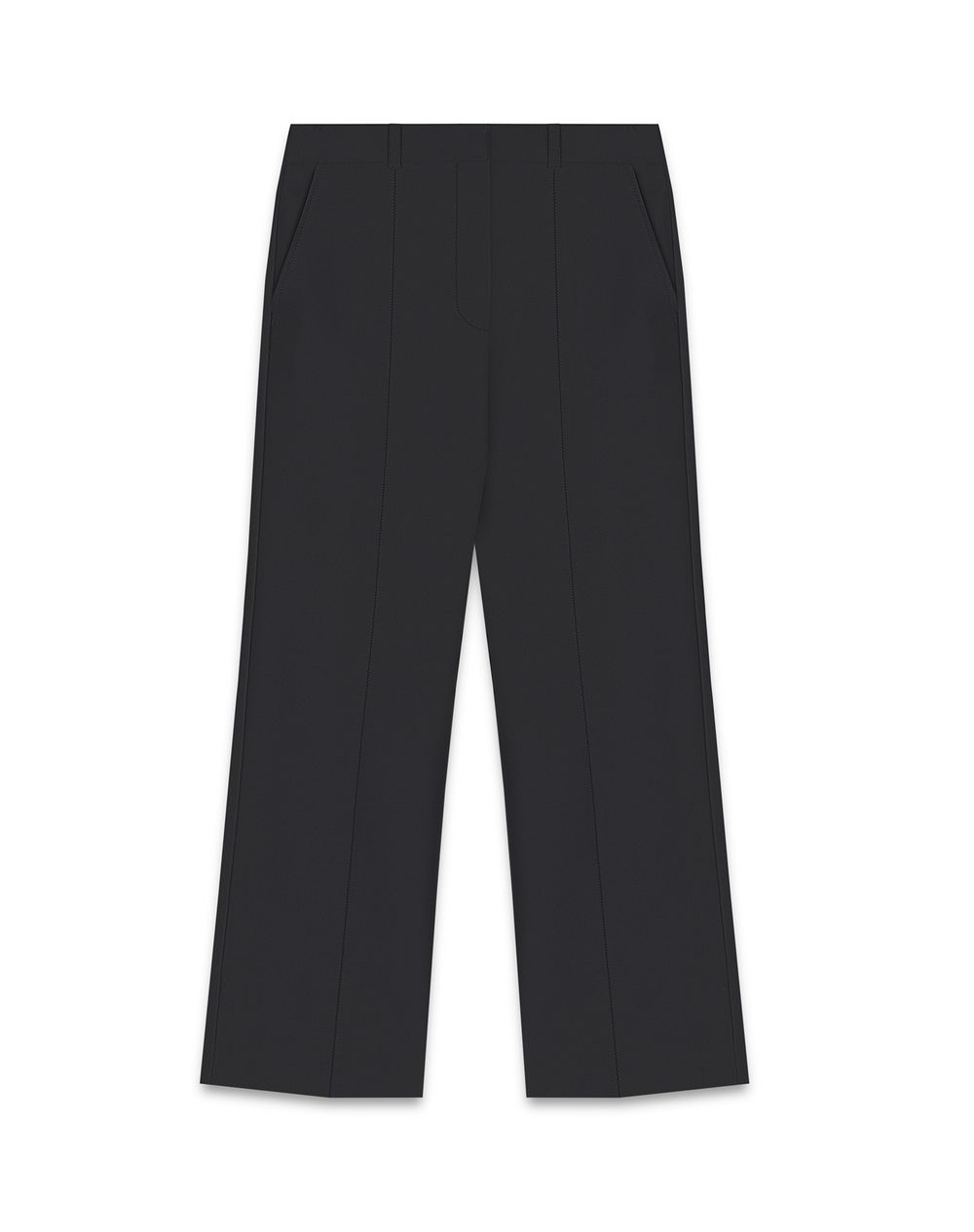 SATIN-EFFECT TAILORED PANTS - Lanvin