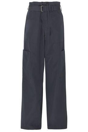 AMBUSH Belted cotton-twill wide-leg cargo pants