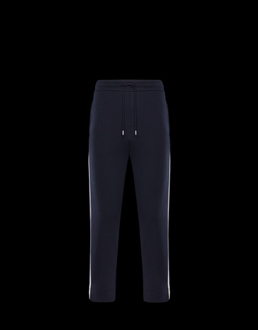 CASUAL TROUSER Dark blue Category JERSEY PANTS