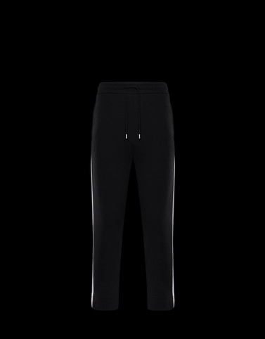 CASUAL TROUSER Black Category JERSEY PANTS