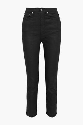 SIMON MILLER High-rise slim-leg jeans