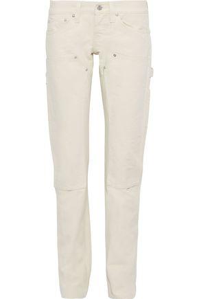 HELMUT LANG Masc Lo low-rise straight-leg jeans