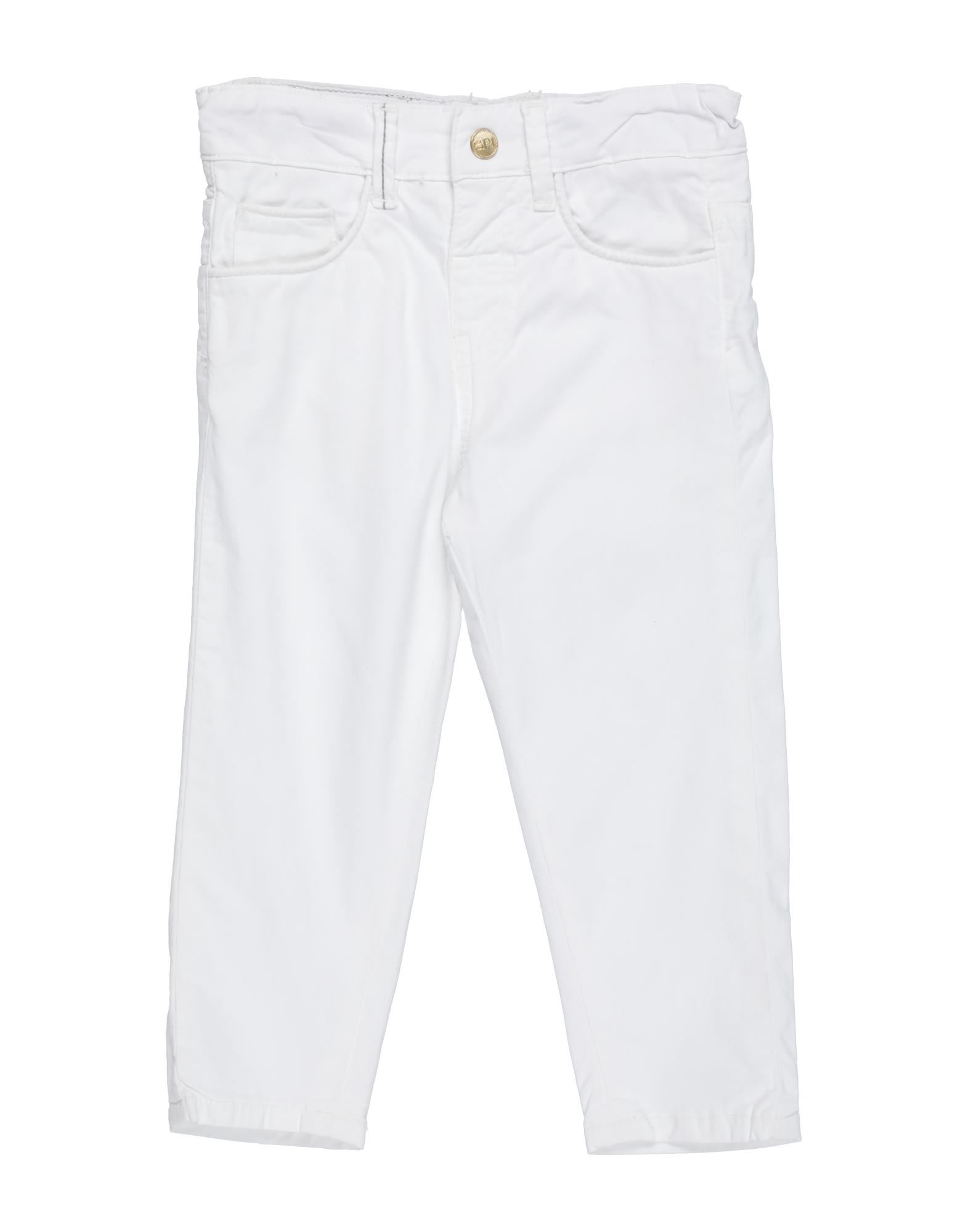 Sp1 Kids' Casual Pants In White