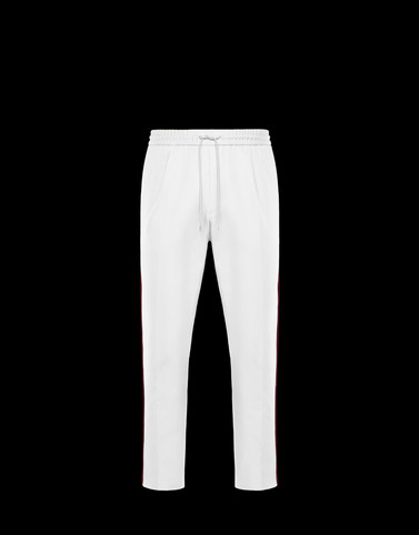 ATHLETIC TROUSERS White New in Man