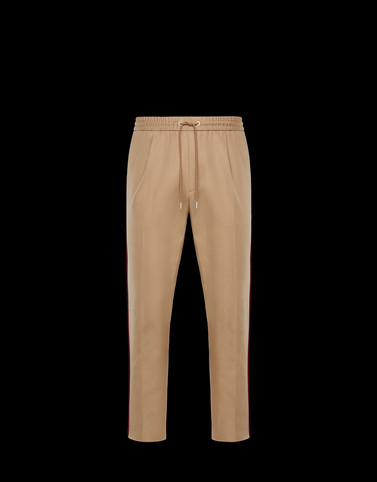 ATHLETIC TROUSERS Camel Trousers